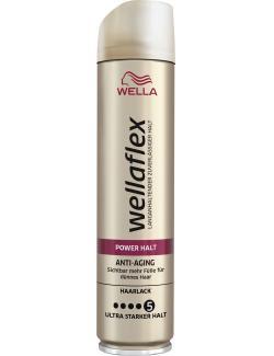 Wella Wellaflex Haarlack Power Halt Anti-Aging ultra starker Halt