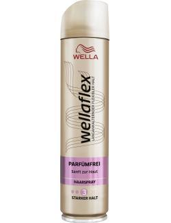 Wella Wellaflex Haarspray Parfümfrei