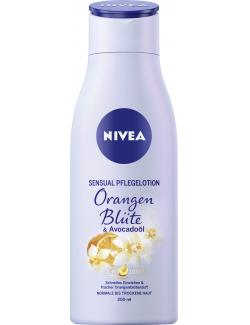 Nivea Sensual Pflegelotion Orangenblüte