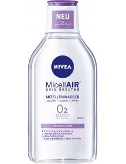 Nivea Visage Micellair Mizellenwasser sensible Haut