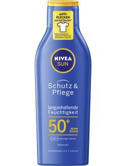 Nivea Sun Schutz & Pflege Sonnenmilch LSF 50+