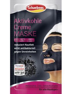 Schaebens Aktivkohle Creme Maske