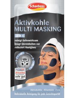 Schaebens Aktivkohle Multi Masking 2in1