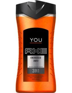 Axe You Energised 200% 3in1 Powerduschgel