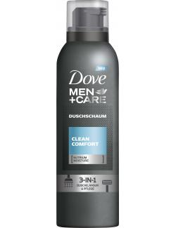 Dove Men+Care Clean Comfort Duschschaum