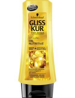 Schwarzkopf Gliss Kur Spülung Oil Nutritive