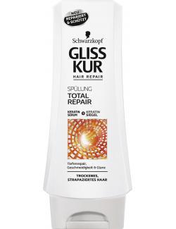 Schwarzkopf Gliss Kur Spülung Total Repair