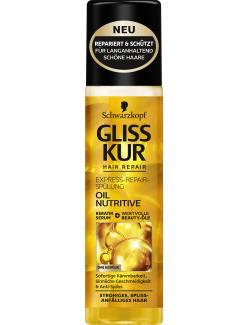 Schwarzkopf Gliss Kur Express Repair Spülung Oil Nutritive
