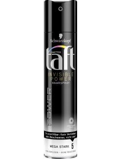 Schwarzkopf 3 Wetter Taft Haarspray Invisible Power mega stark