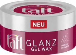 Schwarzkopf 3 Wetter Taft Glanz Gel Wax Diamantschimmer
