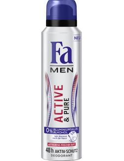 Fa Men Deo Spray Active & Pure