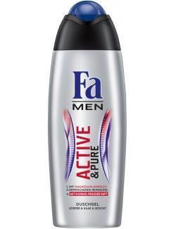 Fa Men Active & Pure Duschgel aktivierend-frischer Duft