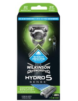 Wilkinson Sword Hydro 5 Sense Comfort beruhigt Rasierer + Klinge