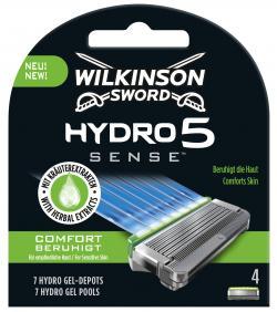 Wilkinson Sword Hydro 5 Sense Comfort beruhigt Klingen
