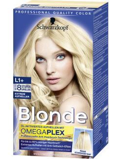 Schwarzkopf Blonde Extrem Aufheller L1+