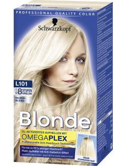 Schwarzkopf Poly Blonde Platin Aufheller L101 Silberblond