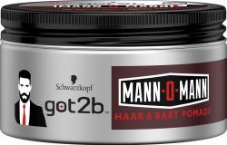 Schwarzkopf Got2b Mann-O-Mann Haar & Bart Pomade