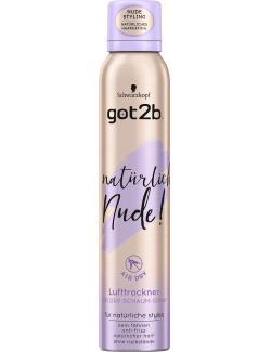 Schwarzkopf Got2b Natürlich Nude! Lufttrockner Schaum-Spray