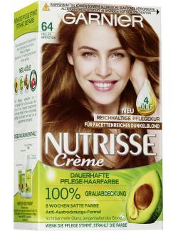 Garnier Nutrisse Creme Pflege-Haarfarbe 64 Heller Bernstein