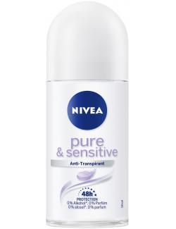 Nivea Pure & Sensitive Anti-Transpirant Roll-On