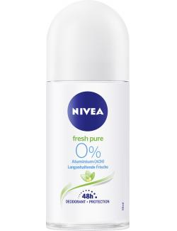Nivea Fresh Pure Langanhaltende Frische Deodorant Roll On