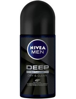 Nivea Deep Dry & Clean Deo Roll-On