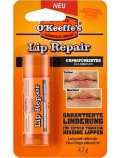 O'Keeffe's Lip Repair Lippenbalsam unparfümiert