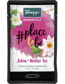 Kneipp Badekristalle Place to be Lotus-Weißer Tee