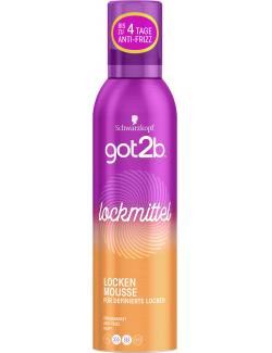 Schwarzkopf Got2b Locken Mousse lockmittel
