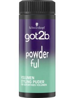 Schwarzkopf Got2b Powderful Volumen Styling Puder