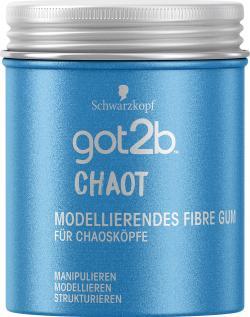 Schwarzkopf Got2b Chaot Modellierendes Fibre Gum