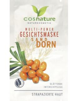 Cosnature Multi-Power Gesichtsmaske Sandddorn