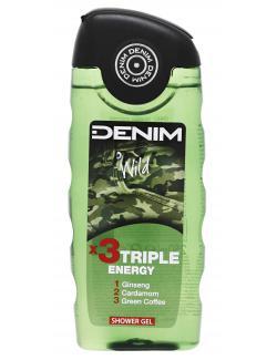 Denim Shower Gel Wild Revitalizing