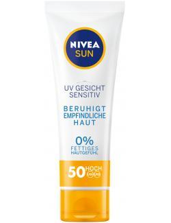 Nivea Sun UV Gesicht Sensitiv LSF 50