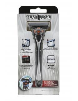 Techedge 6 Klingen-Rasiersystem mit Stylingtrimmer