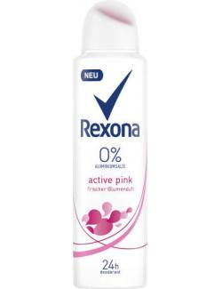 Rexona Active Pink Frischer Blumenduft Deo Spray