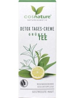 Cosnature Detox Tagescreme Grüner Tee