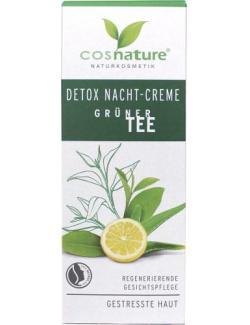 Cosnature Detox Nachtcreme Grüner Tee