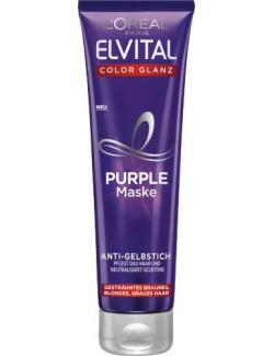 L'Oréal Elvital Color Glanz Purple Maske