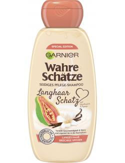 Garnier Wahre Schätze Langhaar Schatz Pflege-Shampoo mit Vanille & Papaya