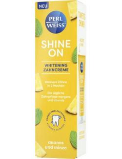 Perlweiss Shine On Whitening Zahncreme Ananas und Minze