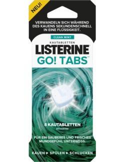 Listerine Go! Tabs Kautabletten Clean Mint