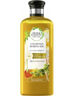 Herbal Essences Pure:renew Shampoo Goldenes Moringaöl