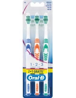 Oral-B Zahnbürste 1-2-3 Classic Care 35 mittel