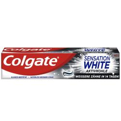 Colgate Sensation White Aktivkohle Zahncreme
