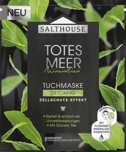 Salthouse Totes Meer Mineralien Tuchmaske Detoxing