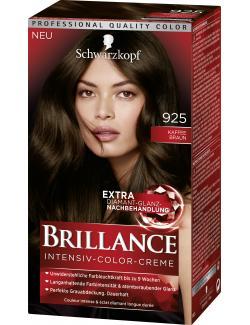 Schwarzkopf Brillance Color-Creme 925 Kaffeebraun