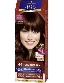 Schwarzkopf Poly Color Creme-Haarfarbe 44 Schokobraun