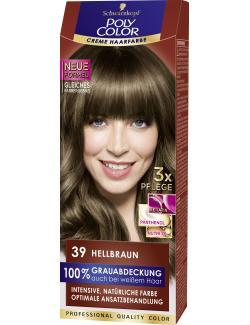 Schwarzkopf Poly Color Creme-Haarfarbe 39 hellbraun