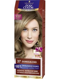 Schwarzkopf Poly Color Creme-Haarfarbe 37 Dunkelblond